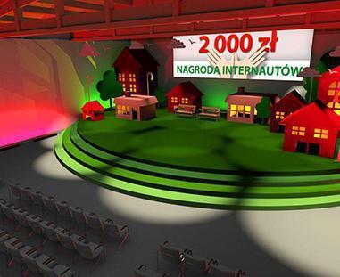 Tworzenie animacji 3D - animacja scenografii eventu