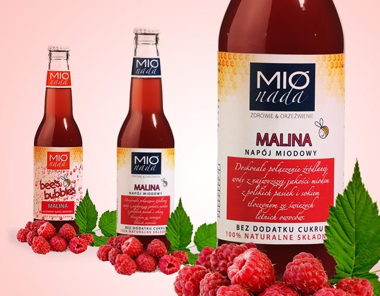 projekt etykiet soków i napojów