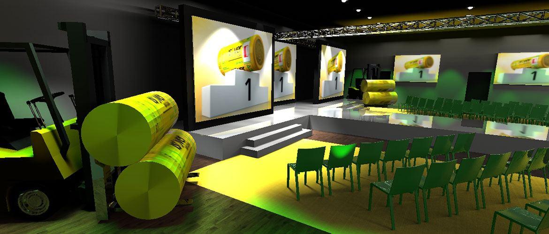 Wizualizacja scenografii eventowej