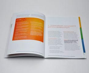 Projekt i druk broszury dla firmy MICROSOFT.