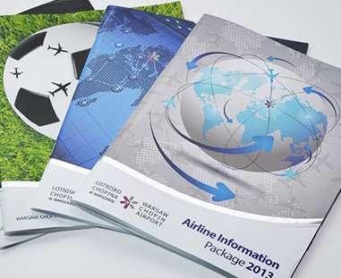 broszura reklamowa - projekt graficzny