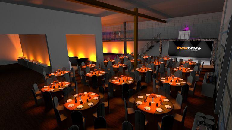Projekt graficzny imprezy – wizualizacja 3D