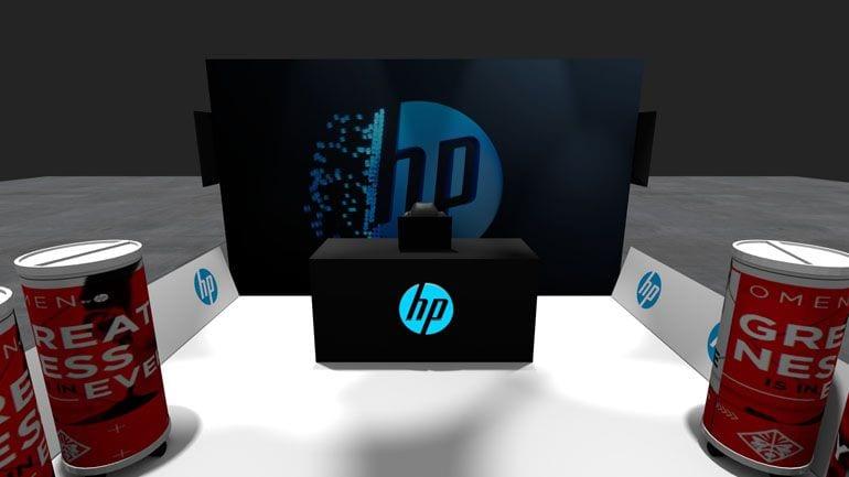 stoisko promocyjne Omen HP