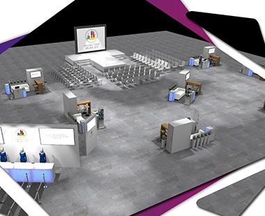 Wizualizacja konferencji - moodboard