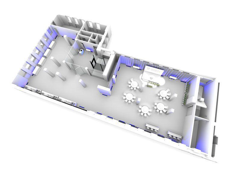 rzut 3D - wizualizacja konferencji