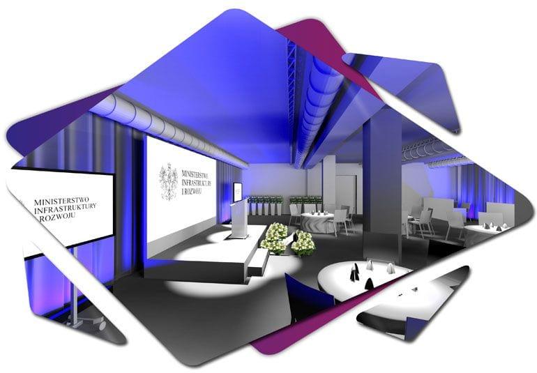 Mood board - wizualizacja konferencji