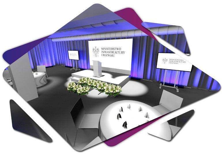 Moodboard - wizualizacja konferencji