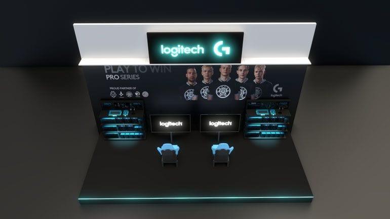 Wizualizacja 3D strefy promocyjnej