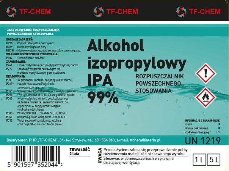 Projekty etykiet środków chemicznych