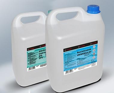 Projektowanie etykiet - projekt etykiety chemiczne