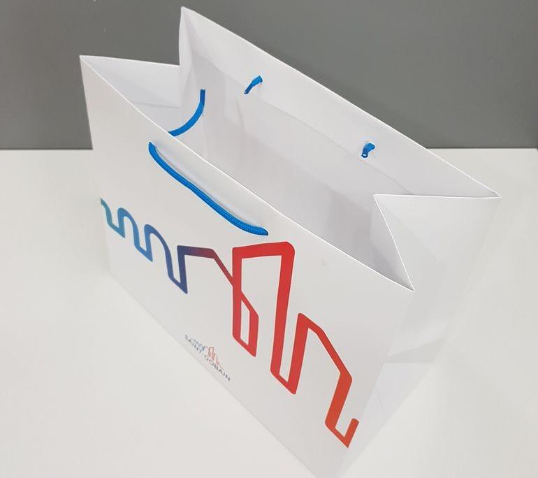 projekt torby papierowej