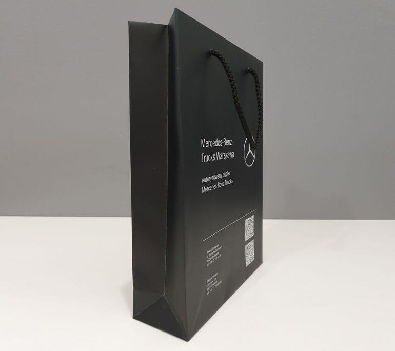 Projekty toreb papierowych z nadrukiem