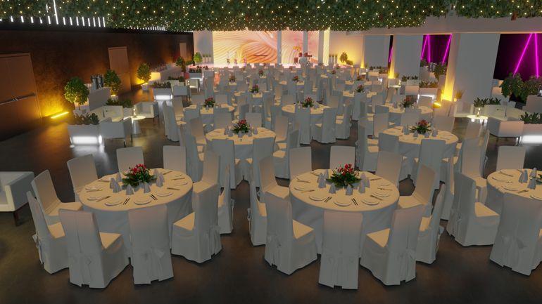 scenografia eventowa - gala wieczorna