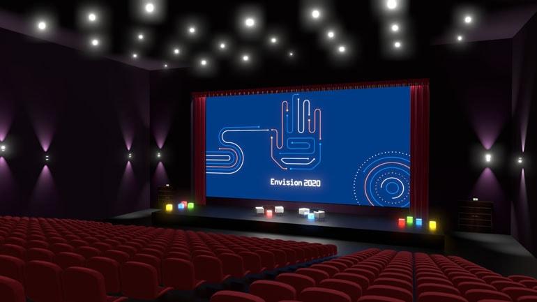 Materiały przetargowe - wizualizacja sceny