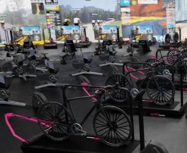 aniamcja 3d klubu fitness