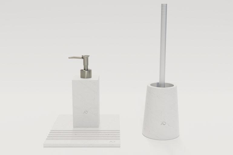 wizualizacja produktu - akcesoria łazienkowe
