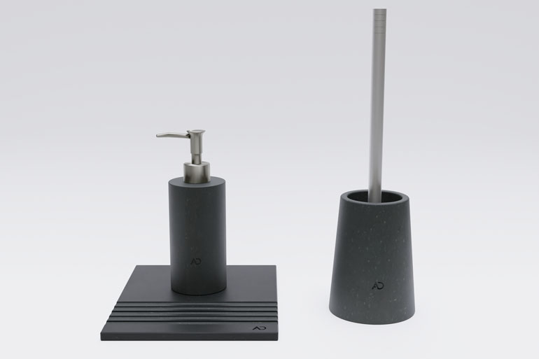 wizualizacja produktu 3d - akcesoria łazienkowe