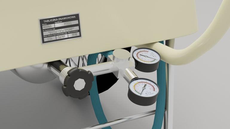 Saturator - wizualizacja produktu 3D
